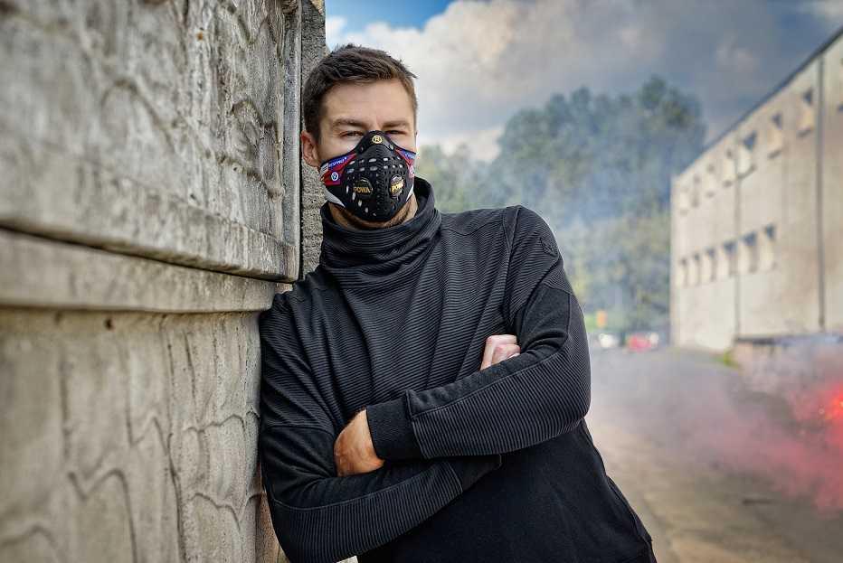 Maska do biegania Respro maska antysmogowa