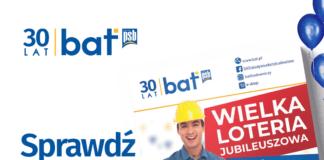 30 lecie Bat promocje gazetka promocyjna materiały budowlane
