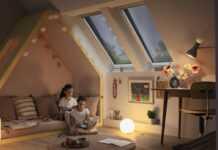 Okna dachowe VELUX GLL 64 drewno poliuretan BAT