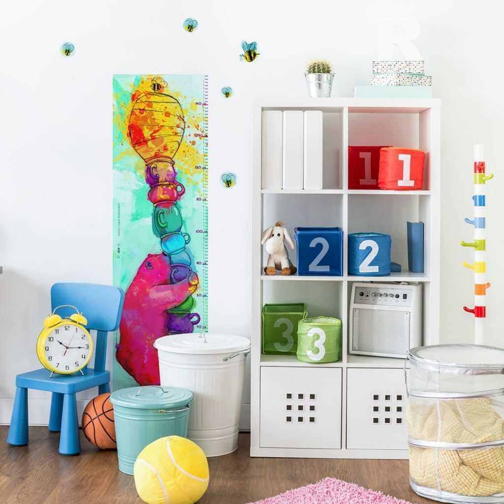 miarka wzrostu dla dzieci na ścianę naklejka sklep bobom
