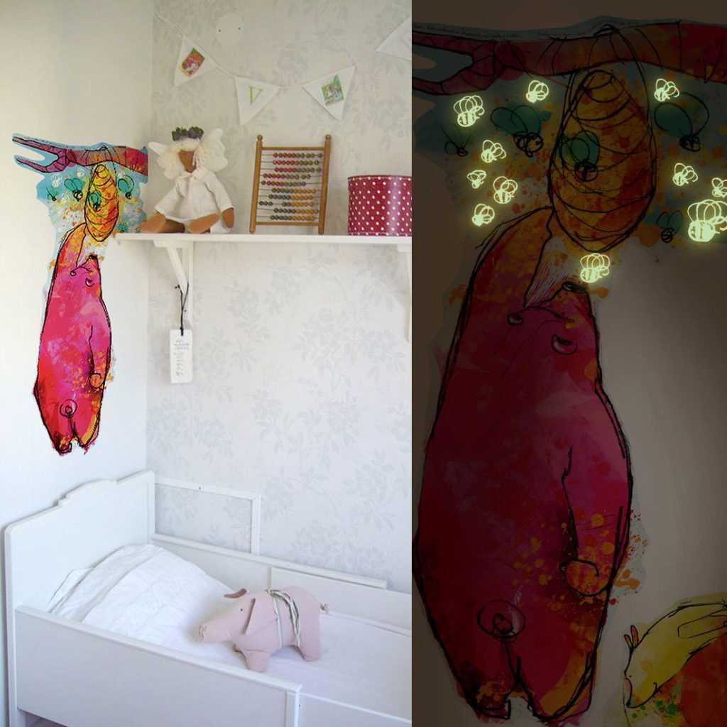 naklejki na ścianę dla dzieci balony sklep bobom